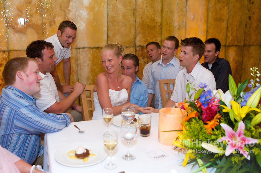 Wedding of Sarah Hobbs and Tony Buck in Cancun, Mexico