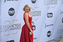 January 27, 2019 - Los Angeles, California, U.S - EMILY OSMENT during silver carpet arrivals for the 25th Annual Screen Actors Guild Awards, held at The Shrine Expo Hall. (Credit Image: © Kevin Sullivan via ZUMA Wire)