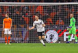 March 24, 2019 - Amsterdam, France - Nico Schulz (Deutschland Germany) gegen Torwart Jasper Cillessen  (Credit Image: © Panoramic via ZUMA Press)