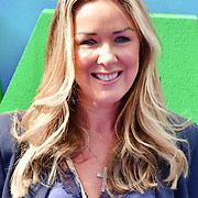 Claire Sweeney attend the Shaun the Sheep Movie: Farmageddon, at ODEON LUXE on 22 September 2019,  London, UK.
