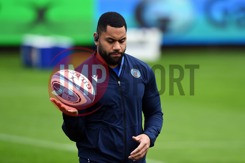 Joe Cokanasiga of Bath Rugby looks on prior to the match - Mandatory byline: Patrick Khachfe/JMP - 07966 386802 - 21/11/2020 - RUGBY UNION - The Recreation Ground - Bath, England - Bath Rugby v Newcastle Falcons - Gallagher Premiership