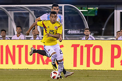 September 11, 2018 - East Rutherford, NJ, U.S. - EAST RUTHERFORD, NJ - SEPTEMBER 11: Colombia midfielder Luis Fernando Diaz (25) controls the ball during the first half of the International Friendly Soccer match between Argentina and Colombia on September 11, 2018 at MetLife Stadium in East Rutherford, NJ. (Photo by John Jones/Icon Sportswire) (Credit Image: © John Jones/Icon SMI via ZUMA Press)