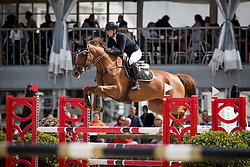 Baeten Louke, BEL, Pegina vd Bisschop<br /> BK Young Horses 2020<br /> © Hippo Foto - Sharon Vandeput<br /> 6/09/20