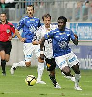 Fotball , 09 august 2009<br /> Norgesmesterskapt fotball NM<br /> Molde - Rosenborg bk 5-0<br /> <br /> Makthar thioune - molde<br /> Magne hoseth - molde<br /> Roar strand - rosenborg<br /> <br /> Foto: Richard Brevik , Digitalsport