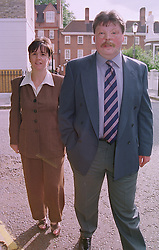 MR & MRS SIMON WESTON he was badly burned in the battle for the Falkland Islands in 1981, at a party in London on 30th June 1999.MTY 10