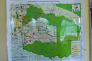 Ecuador, May 10 2010: Map showing incidents within Huaorani territory. Copyright 2010 Peter Horrell
