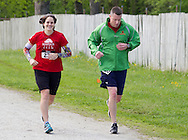 Augusta, New Jersey - Runners on the course during the 3 Days at the Fair races at Sussex County Fairgrounds on May 11, 2012.