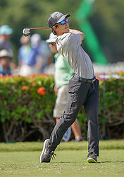 January 10, 2019 - Honolulu, HI, U.S. - HONOLULU, HI - JANUARY 10: Jared Sawada of the United Stated tees off on the 10th tee during the first round of the Sony Open on January 10, 2019, at the Waialae Counrty Club in Honolulu, HI. (Photo by Darryl Oumi/Icon Sportswire) (Credit Image: © Darryl Oumi/Icon SMI via ZUMA Press)