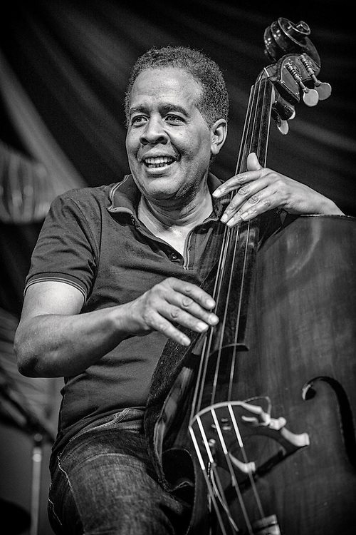 Stanley Clarke performs on the WWOZ Jazz Tent Stage during the 2013 New Orleans Jazz & Heritage Music Festival at Fair Grounds Race Course on May 4 2013 in New Orleans, Louisiana. USA.