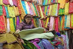 Fabric Store At Phsar Nath Market