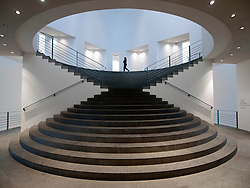 Entrance hall and stairs to the Bonn Kunstmuseum or Bonn Art Museum in Bonn Germany