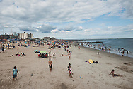 The beach at Coney Island, New York City, USA<br /> <br /> (July 10, 2016)