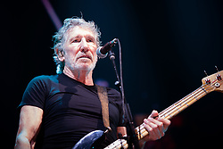 April 17, 2018 - Milan, Italy - The music legend, singer and song writer, Roger Waters Performing live on stage at the Assago Forum in Milan for his first ''Us + Them'' italian tour concert  (Credit Image: © Alessandro Bosio/Pacific Press via ZUMA Wire)