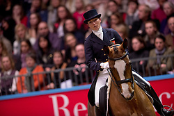 Crisp Nikki (GBR) - Pasoa<br /> Kur - Reem Acra FEI World Cup Dressage Qualifier - The London International Horse Show Olympia - London 2012<br /> © Hippo Foto - Jon Stroud