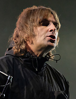Liam Gallagher  at the Isle of Wight Festival, Newport, IOW photo by Dawn Fletcher -Park