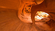 Windstone Arch (Fire Arch), Valley of Fire State Park, Nevada USA