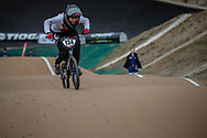 #134 (CLAESSENS Zoe) SUI at Round 3 of the 2020 UCI BMX Supercross World Cup in Bathurst, Australia.