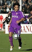 Firenze 7-11-2004<br /> Campionato di calcio Serie A 2004-05<br /> Fiorentina Inter<br /> nella  foto Fabrizio Miccoli<br /> Foto Snapshot / Graffiti