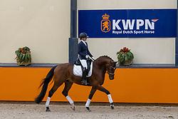 Jansen Lotte, NED, Mexpression<br /> Fotodag KWPN Hengstenkeuring 2021<br /> © Hippo Foto - Dirk Caremans<br /> 21/12/2020