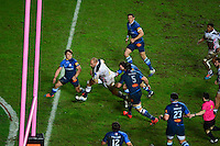 Essai Sergio PARISSE - 09.01.2015 - Stade Francais / Castres - 16eme journee de Top 14<br />Photo : Dave Winter / Icon Sport