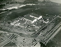 1928 Aerial view of Mack Sennett Studios in Studio City, CA