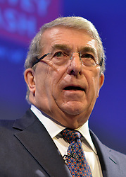 © Licensed to London News Pictures. 19/11/2012. London, UK Sir Roger Carr, CBI president speaks at the CBI (Confederation of British Industry's) conference at Grosvenor House Hotel today 19th October 2012 . Photo credit : Stephen Simpson/LNP