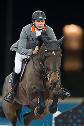 Kutscher Marco (GER) - Cash 63<br /> CHI Al Shaqab - Doha 2013<br /> © Dirk Caremans