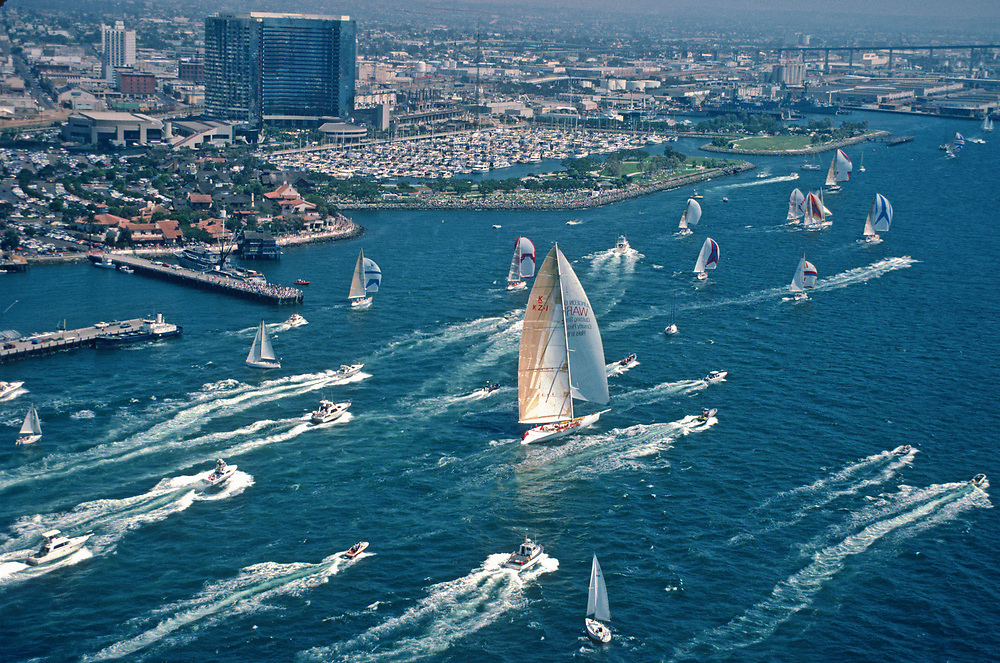 1988 America's Cup San Diego