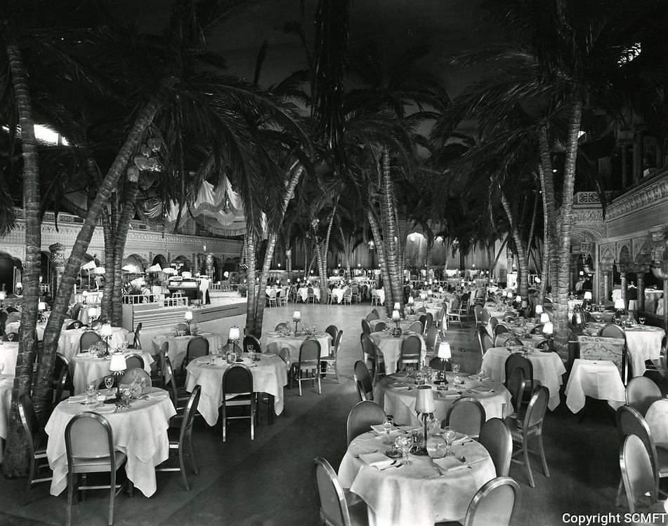 1938 Cocoanut Grove interior