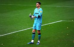 Luke McGee of Forest Green Rovers- Mandatory by-line: Nizaam Jones/JMP - 31/10/2020 - FOOTBALL - Jonny-Rocks Stadium - Cheltenham, England - Cheltenham Town v Forest Green Rovers - Sky Bet League Two
