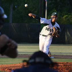 07 April 2009: Ponchatoula high school baseball action photography