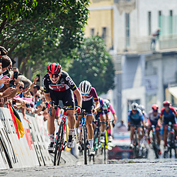 17-09-2020: Wielrennen: Giro Rosa: Maddaloni<br /> Lotte Kopecky (Belgium / Team Lotto Soudal Ladies) sprint naar de overwinning17-09-2020: Wielrennen: Giro Rosa: Maddaloni