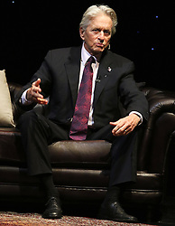 © Licensed to London News Pictures. 30/10/2016. London, UK, An Evening with Michael Douglas at the Theatre Royal Drury Lane, Photo credit: Brett Cove/LNP