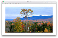 Sugar Hill New Hampshire, near Franconia Notch State Park, USA