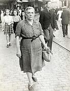 people walking in the street France