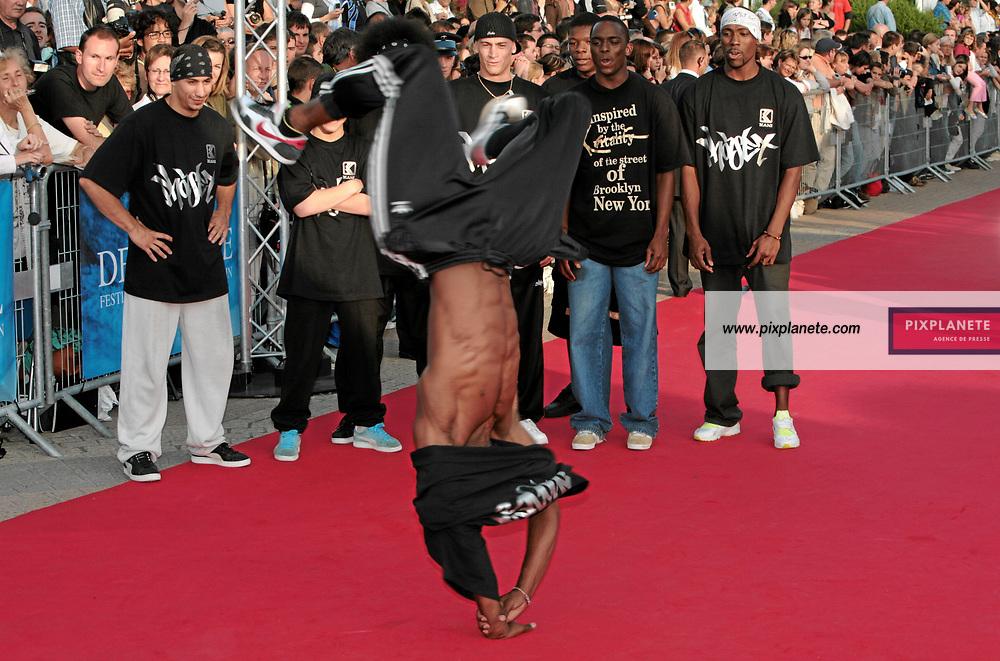 Ambiance Hip-hop sur le tapis rouge de Deauville - 33 ème festival du film américain de Deauville - 2/09/2007 - JSB / PixPlanete