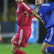 Turkish soccer National team.<br /> Turkey between Liechtenstein match. Turkey's Alpay Ozalan during their in AliSamiYen Stadium Istanbul/TURKEY .<br /> Photo by Aykut AKICI/TurkSporFoto
