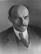 Vladimir Ilyich Lenin (Ulyanov 1870-1924) c1917. Russian revolutionary.