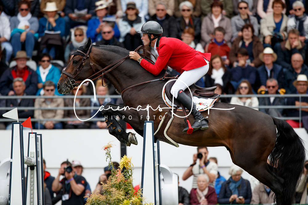 Van Paesschen Constant, BEL, Carlow vd Helle<br /> FEI Nations Cup presented by Longines<br /> Longines Jumping International de La Baule 2017<br /> © Dirk Caremans<br /> 12/05/2017