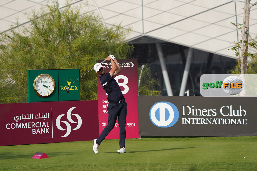 Benjamin Poke (DEN) during the third round of the Commercial Bank Qatar Masters 2020, Education City Golf Club , Doha, Qatar. 07/03/2020<br /> Picture: Golffile | Phil Inglis<br /> <br /> <br /> All photo usage must carry mandatory copyright credit (© Golffile | Phil Inglis)