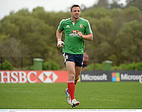 3 July 2013; Tommy Bowe, British & Irish Lions, during squad training ahead of their 3rd test match against Australia on Saturday. British & Irish Lions Tour 2013, Squad Training. Noosa Dolphins RFC, Dolphin Oval, Sunshine Beach, Queensland, Australia. Picture credit: Stephen McCarthy / SPORTSFILE