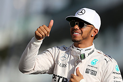 Lewis Hamilton (GBR) Mercedes AMG F1  <br /> 27.11.2016. Formula 1 World Championship, Rd 21, Abu Dhabi Grand Prix, Yas Marina Circuit, Abu Dhabi, Race Day.<br /> Copyright: Charniaux / XPB Images / action press