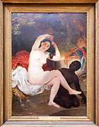 Bathsheba by Karl Bryullov(1832) Painting on display at the State Tretyakov Gallery (GTG) an art gallery in Moscow, Russia, the foremost depository of Russian fine art in the world.
