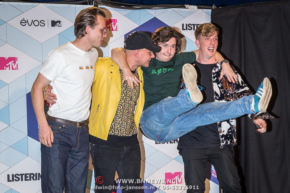 NLD/Rotterdam/20161106 - MTV EMA's 2016, Lucas Graham