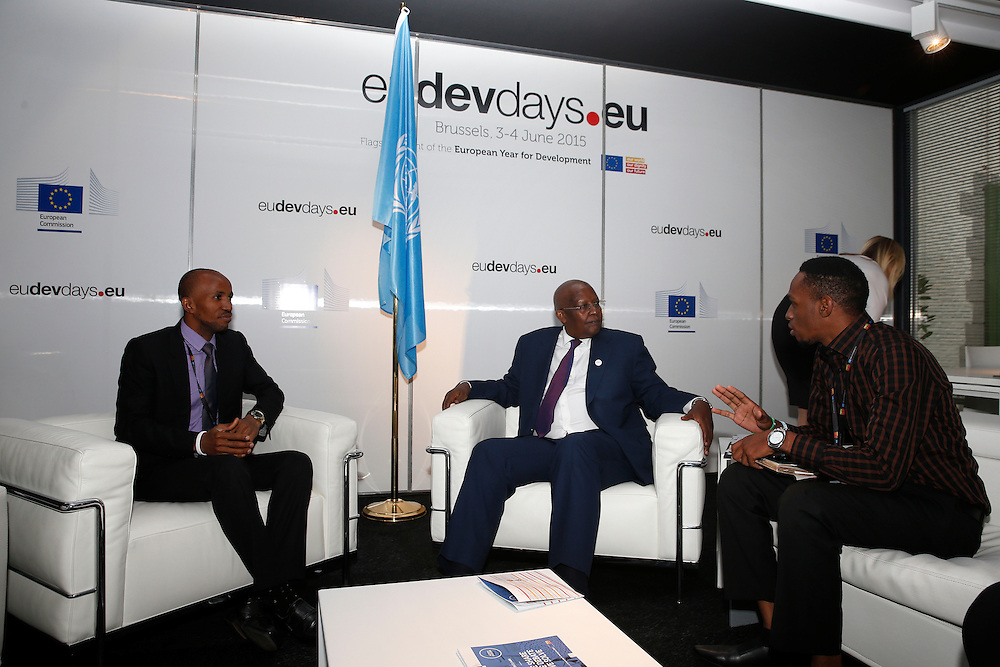 20150603- Brussels - Belgium - 03 June2015 - European Development Days - EDD  -  Sam Kutesa Nicholas Niwagaba and Muhammed Kisirisa  © EU/UE