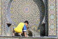 Maroc - Meknes - Fontaine dans la Medina