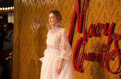 Saoirse Ronan arrives at the European premiere of Mary Queen of Scots at Cineworld Leicester Square, London.