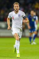 England forward Harry Kane during the UEFA European 2020 Qualifier match between Kosovo and England at the Fadil Vokrri Stadium, Pristina, Kosovo on 17 November 2019.