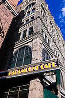 Paramount Cafe, 16th Street Mall, Downtown Denver, Colorado USA