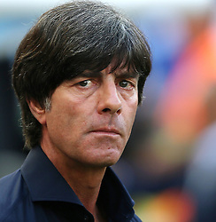 04.07.2014, Maracana, Rio de Janeiro, BRA, FIFA WM, Frankreich vs Deutschland, Viertelfinale, im Bild Trainer Joachim Loew, from Germany versus France // during quarterfinals between France and Germany of the FIFA Worldcup Brazil 2014 at the Maracana in Rio de Janeiro, Brazil on 2014/07/04. EXPA Pictures © 2014, PhotoCredit: EXPA/ Eibner-Pressefoto/ Cezaro<br /> <br /> *****ATTENTION - OUT of GER*****